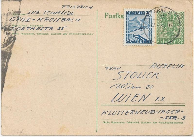 Bedarfspost Ganzsachen Österreich 1945-1947 Bild_261