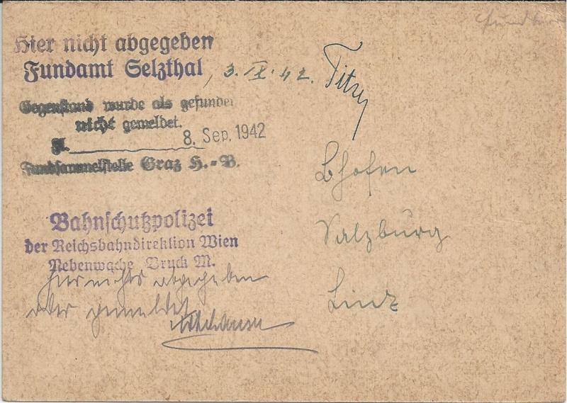 Österreich im III. Reich (Ostmark) Belege - Seite 6 Bild_316