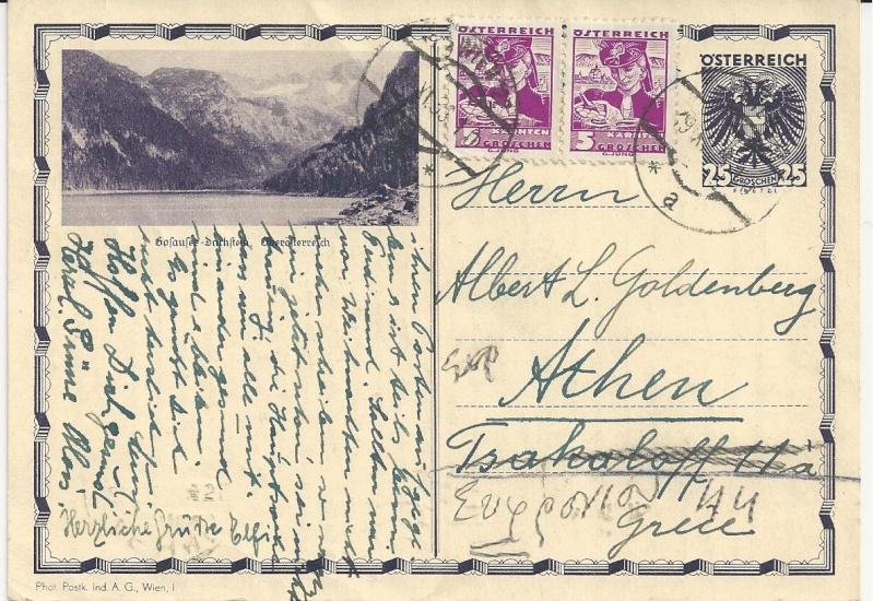 Bedarfspost Ganzsachen Österreich 1925-1938 Bild_319