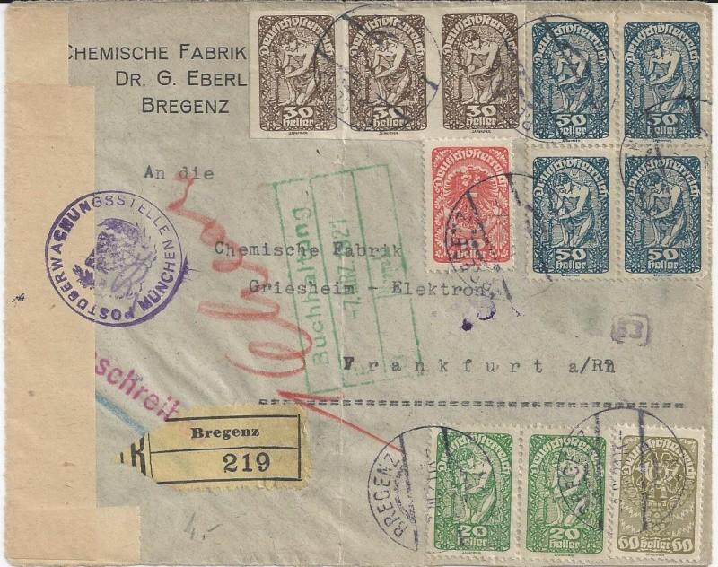 Devisenkontrolle im Deutschen Reich nach Ende des 1. Weltkrieges Bild_324