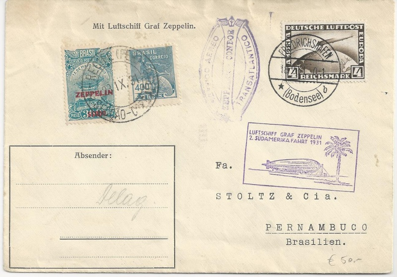 """Südamerikapost per Zeppelin"" Bild_331"