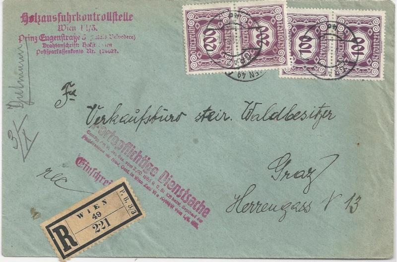 Inflation in Österreich - Belege - 1918 bis 1925 - Seite 5 Bild_332