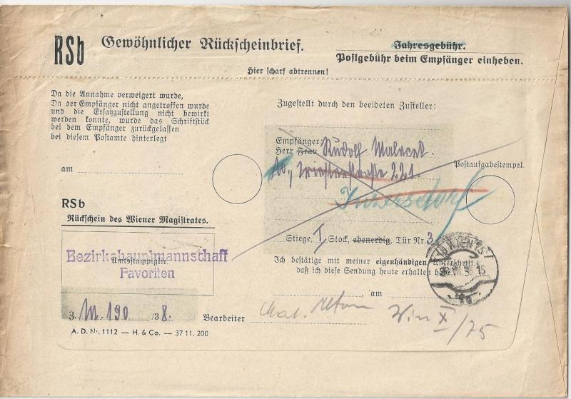 Österreich im III. Reich (Ostmark) Belege - Seite 6 Bild_338