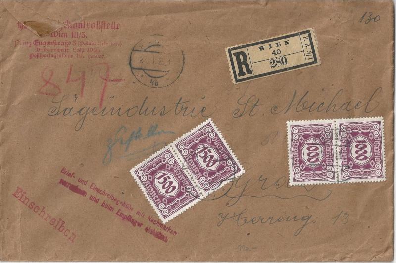 Inflation in Österreich - Belege - 1918 bis 1925 - Seite 5 Bild_427