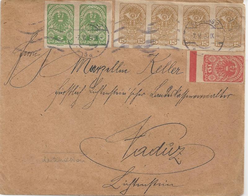 Inflation in Österreich - Belege - 1918 bis 1925 - Seite 5 Bild_435