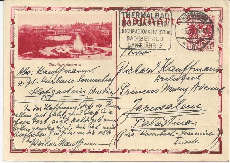 Bedarfspost Ganzsachen Österreich 1925-1938 Bild_515