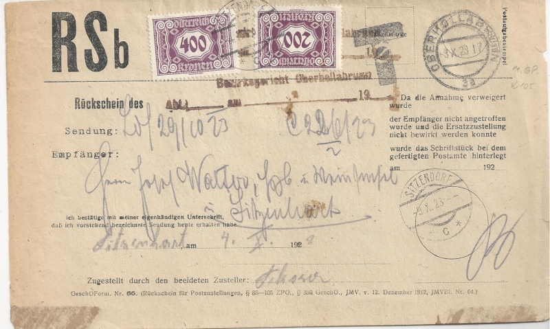 Inflation in Österreich - Belege - 1918 bis 1925 - Seite 5 Bild_519