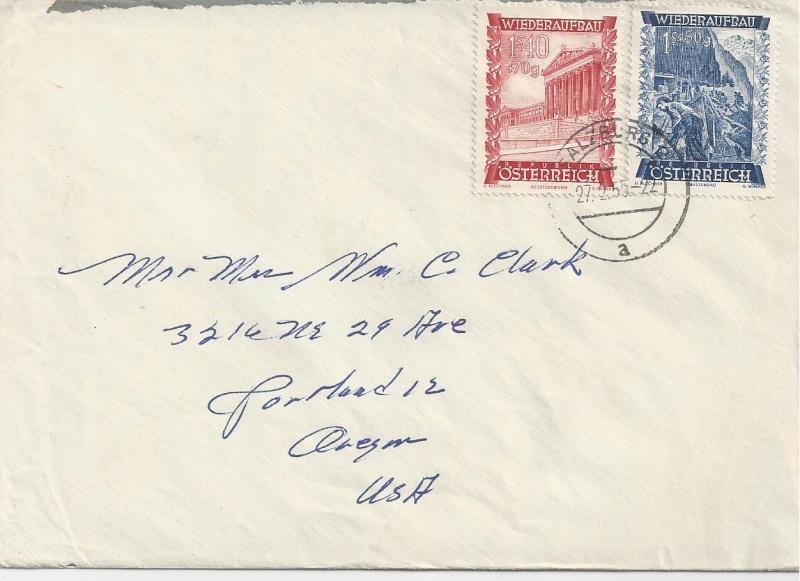 Sammlung Bedarfsbriefe Österreich ab 1945 - Seite 6 Bild_525