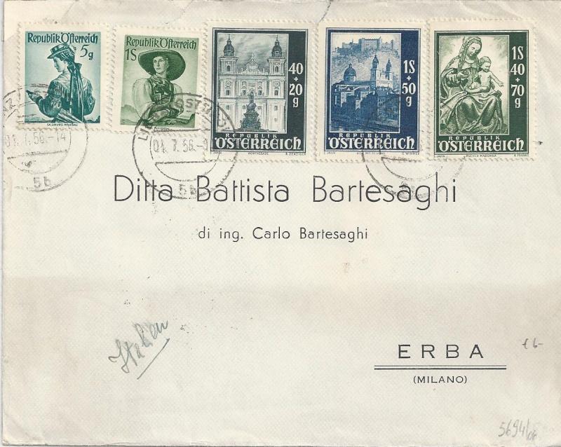Sammlung Bedarfsbriefe Österreich ab 1945 - Seite 6 Bild_527