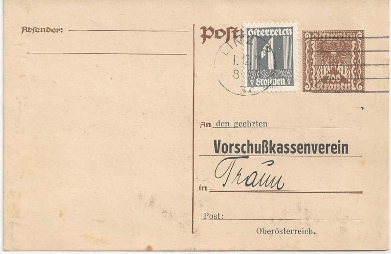 Briefe / Poststücke österreichischer Banken - Seite 3 Bild_618
