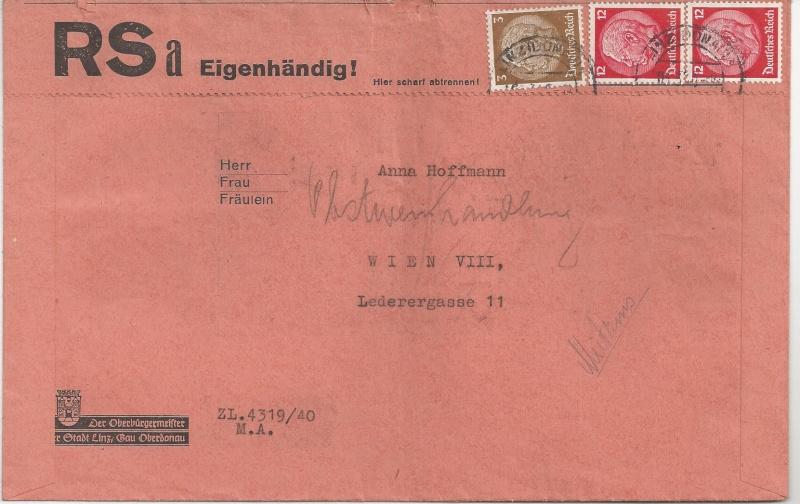 Österreich im III. Reich (Ostmark) Belege - Seite 6 Bild_620