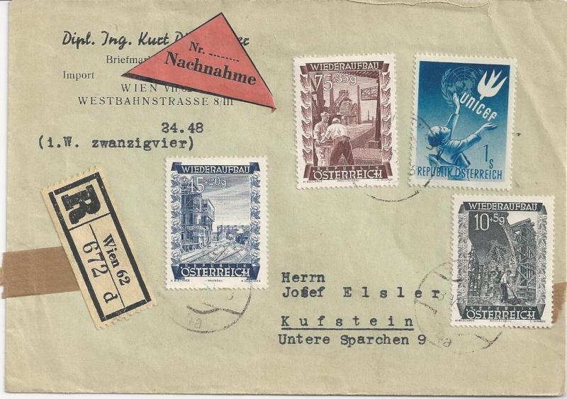 Sammlung Bedarfsbriefe Österreich ab 1945 - Seite 6 Bild_621