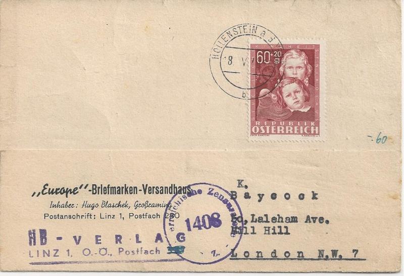 Sammlung Bedarfsbriefe Österreich ab 1945 - Seite 6 Bild_623