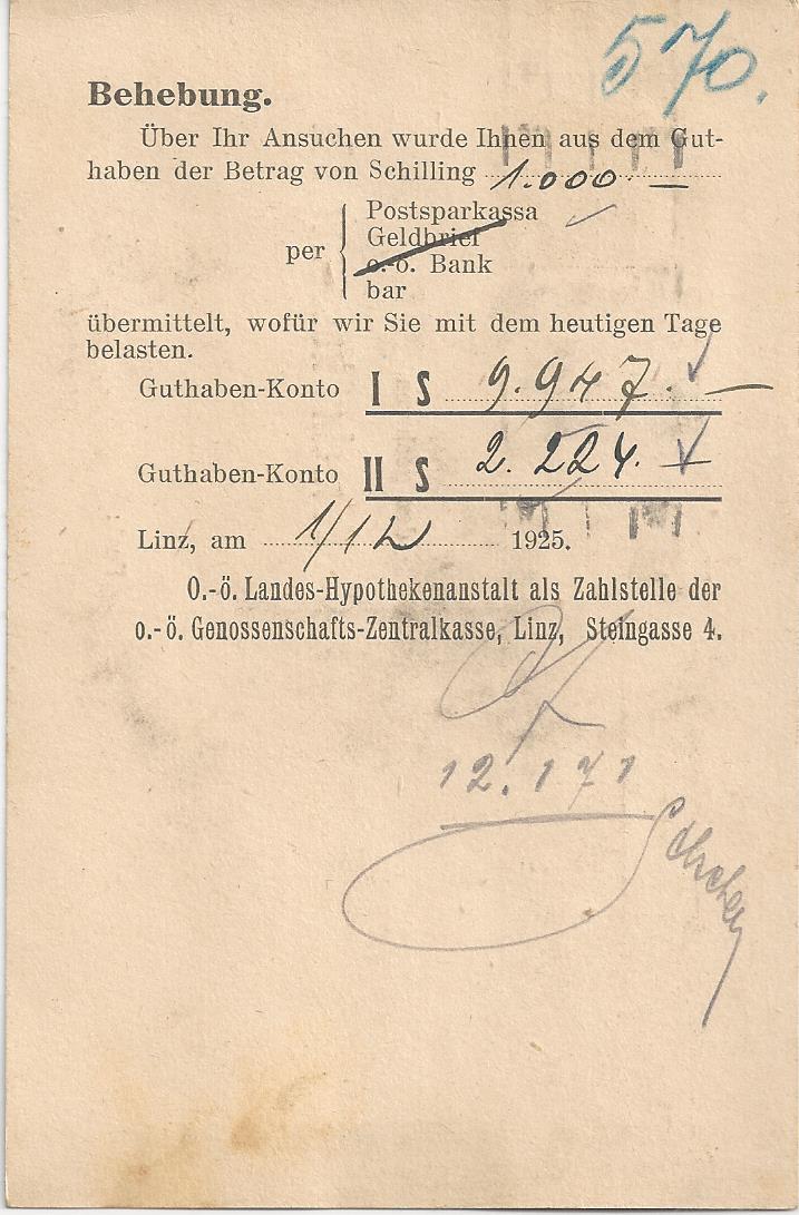 Briefe / Poststücke österreichischer Banken - Seite 3 Bild_715