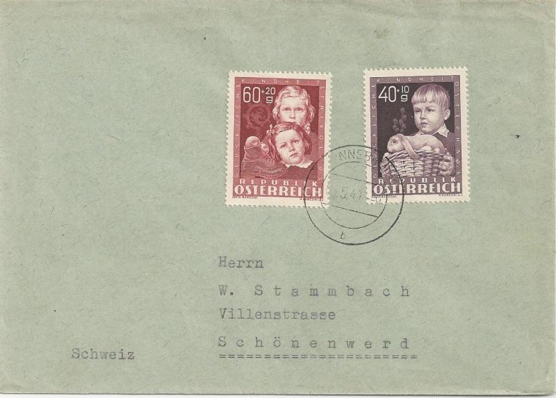 Sammlung Bedarfsbriefe Österreich ab 1945 - Seite 6 Bild_719