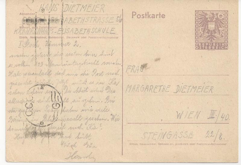 Bedarfspost Ganzsachen Österreich 1945-1947 Bild_720