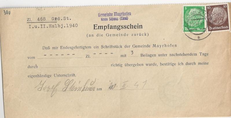 Österreich im III. Reich (Ostmark) Belege - Seite 6 Bild_814