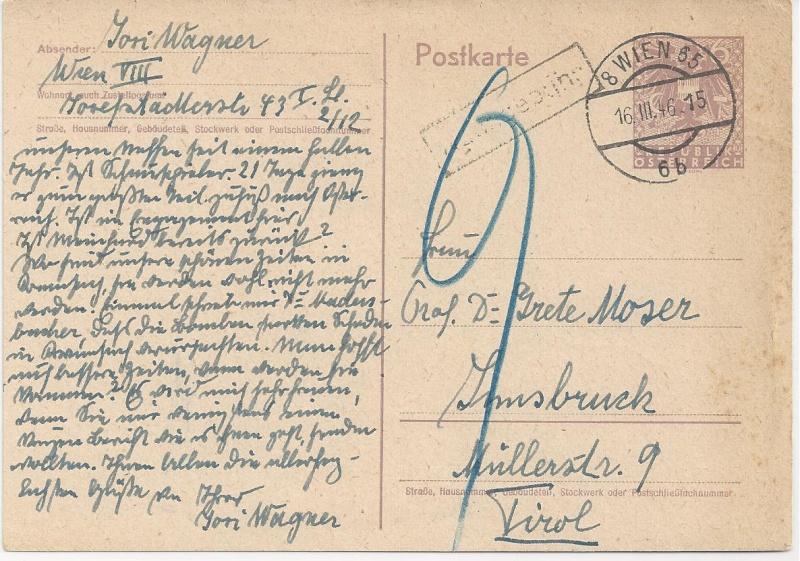 Bedarfspost Ganzsachen Österreich 1945-1947 Bild_817