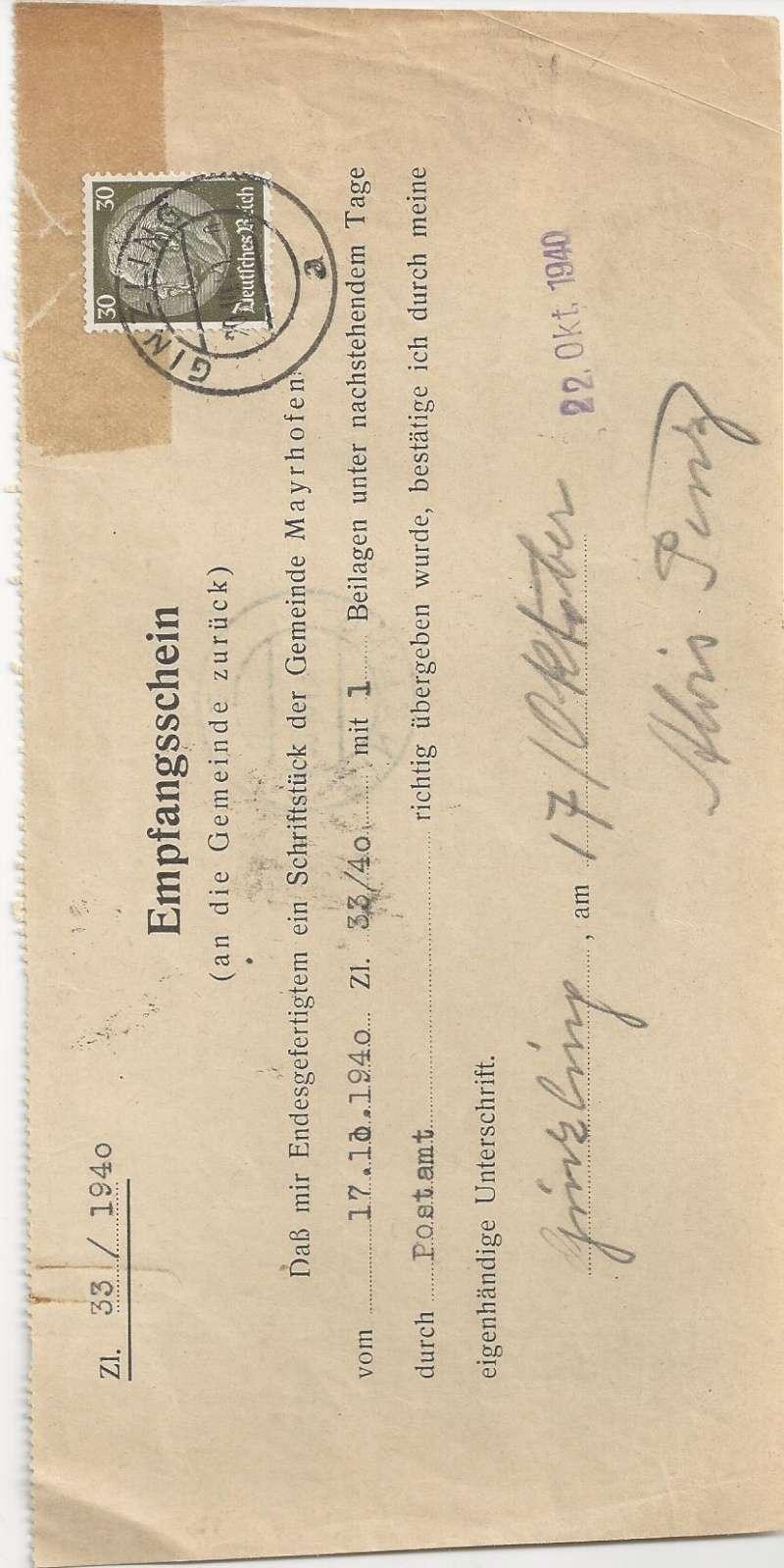 Österreich im III. Reich (Ostmark) Belege - Seite 6 Bild_915