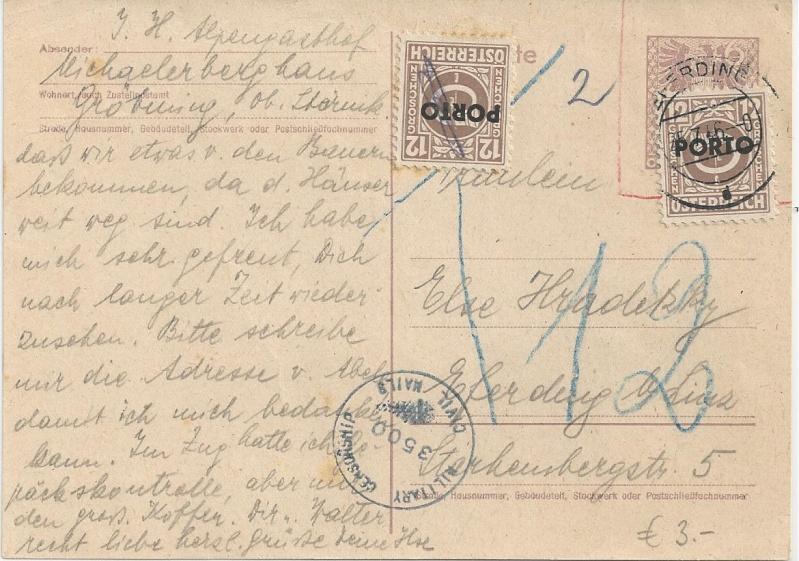 Bedarfspost Ganzsachen Österreich 1945-1947 Bild_918