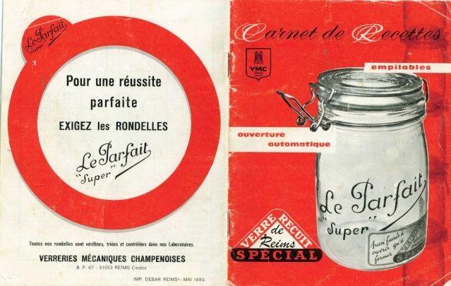 """Carnet de Recettes """"Le Parfait"""" Carnet10"""