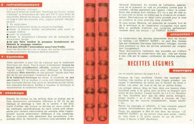"""Carnet de Recettes """"Le Parfait"""" Carnet15"""