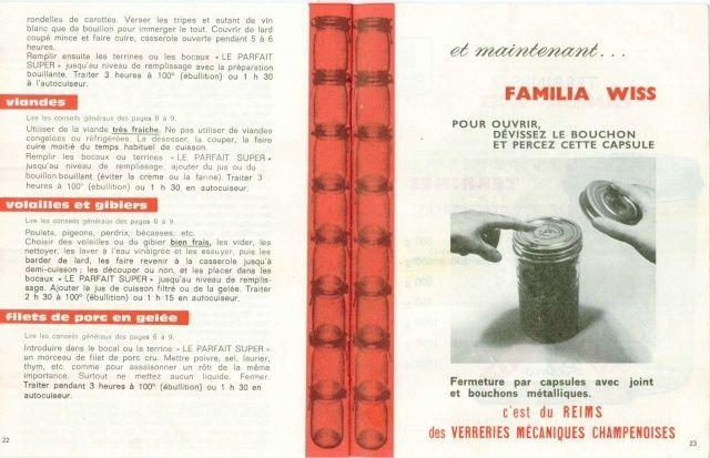 """Carnet de Recettes """"Le Parfait"""" Carnet22"""