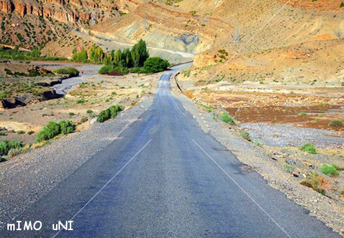 desenclavement de tamazirte ,Les Routes de l'Atlas Marocain Moyen_10