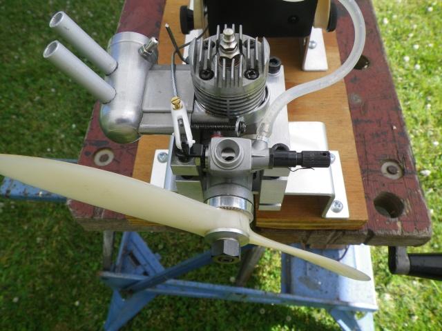 Test run of my ENYA 19 VI BB Imgp5313