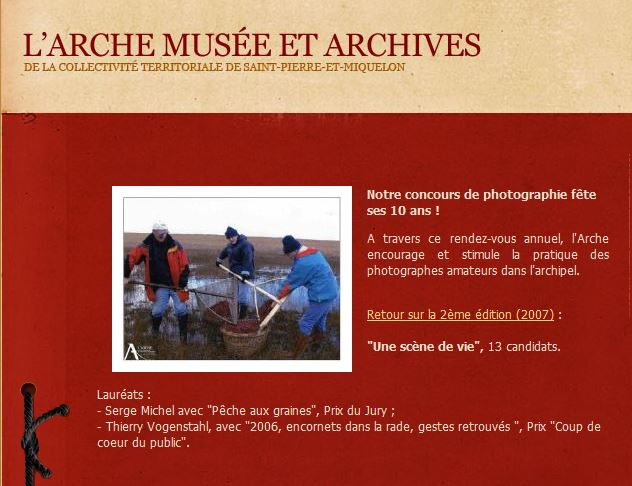 CONCOURS DE PHOTOGRAPHIES - Musée de l'ARCHE 7494
