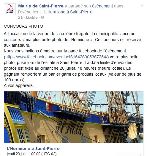 CONCOURS PHOTO  « ma plus belle photo de l'Hermione » 8241