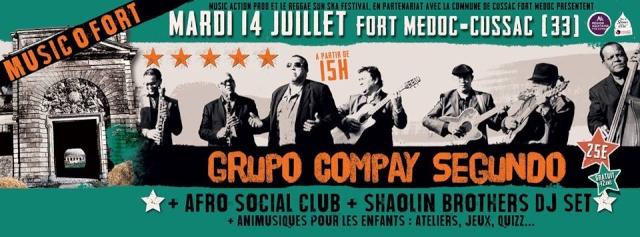Music'O'Fort le 14 Juillet 2015 à Cussac Fort Médoc 11143210