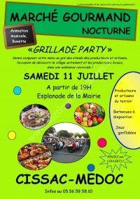 Marché Gourmand Nocturne le 11 Juillet 2015 à Cissac Médoc 625e6c10