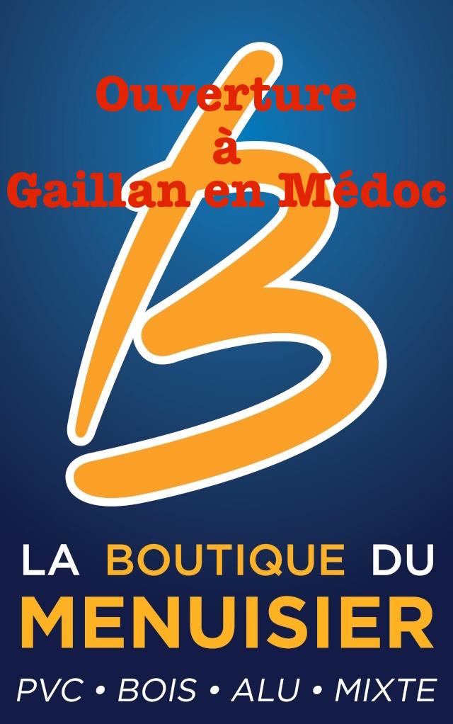 La Boutique du Menuisier s'implante à Gaillan en Médoc Logo1010