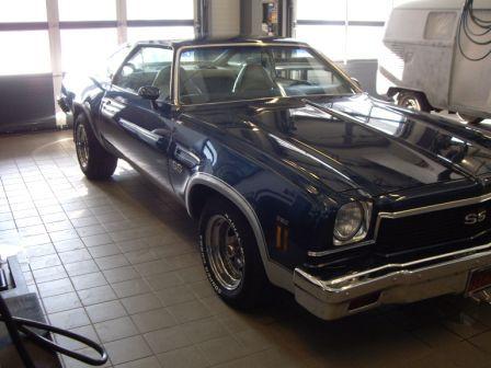 Identify a 1973 Chevelle SS Chevel12
