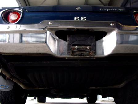 Identify a 1973 Chevelle SS Chevel13