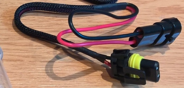 Installation feux xenon sur Journey W1011
