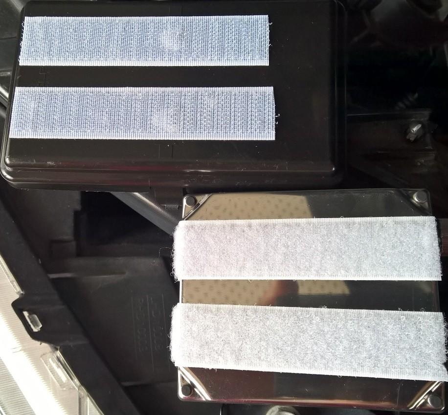Installation feux xenon sur Journey W710
