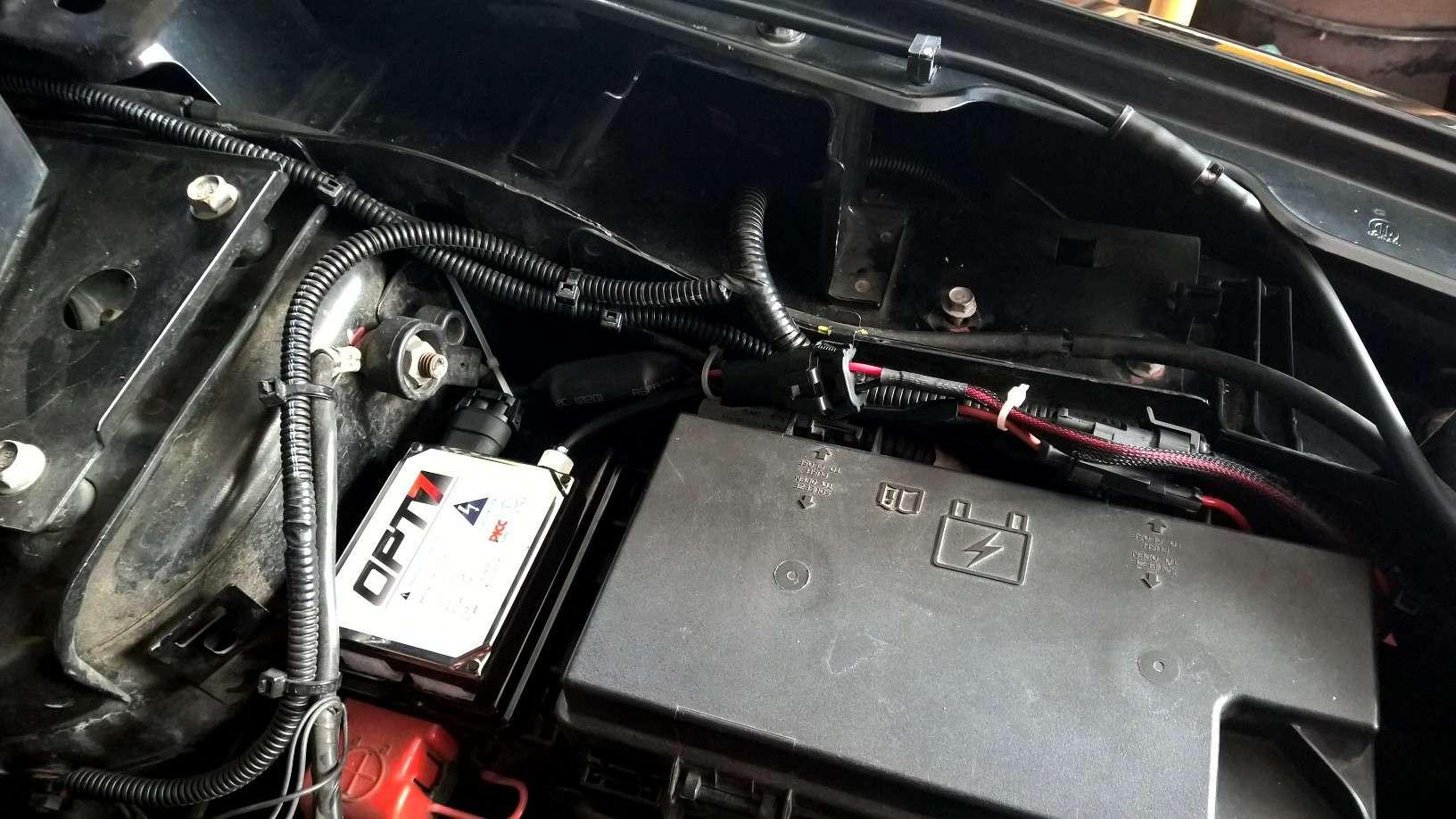 Installation feux xenon sur Journey W810