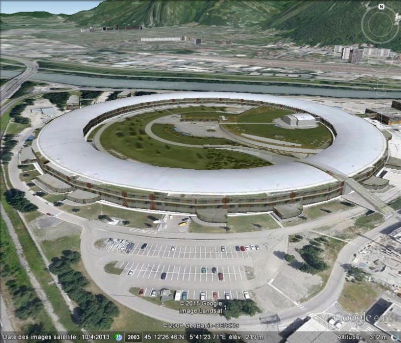 Synchrotron de Grenoble, Isère -  France 114