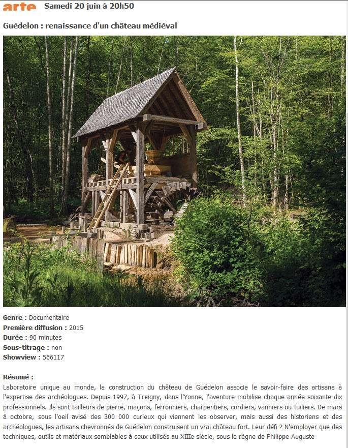Guédelon, la célébration de la lenteur - Page 4 2015-020