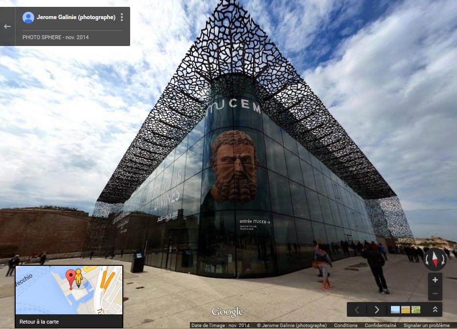[Désormais visible sur Google-Earth] Le MuCEM - Marseille - France 2015-023