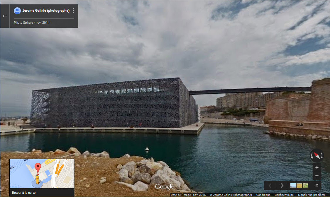 [Désormais visible sur Google-Earth] Le MuCEM - Marseille - France 2015-025
