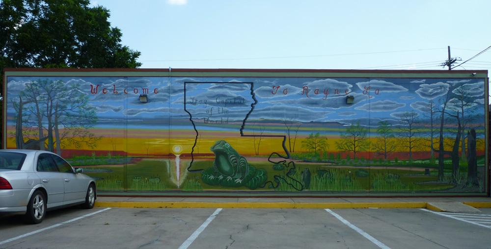 Rayne, capitale mondiale de la grenouille - Louisiane - USA 40136710