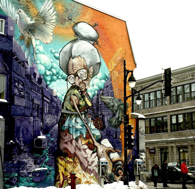 STREET VIEW : les fresques murales - MONDE (hors France) - Page 19 Grandm10