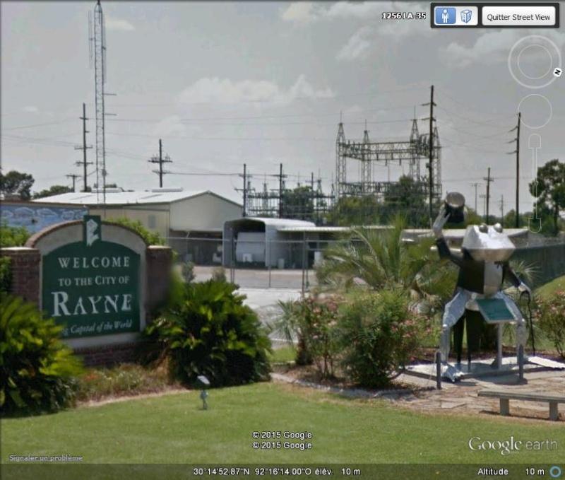 Rayne, capitale mondiale de la grenouille - Louisiane - USA Lll12