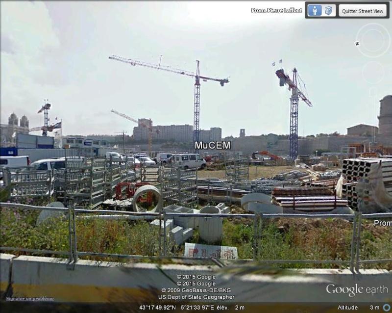 [Désormais visible sur Google-Earth] Le MuCEM - Marseille - France M10