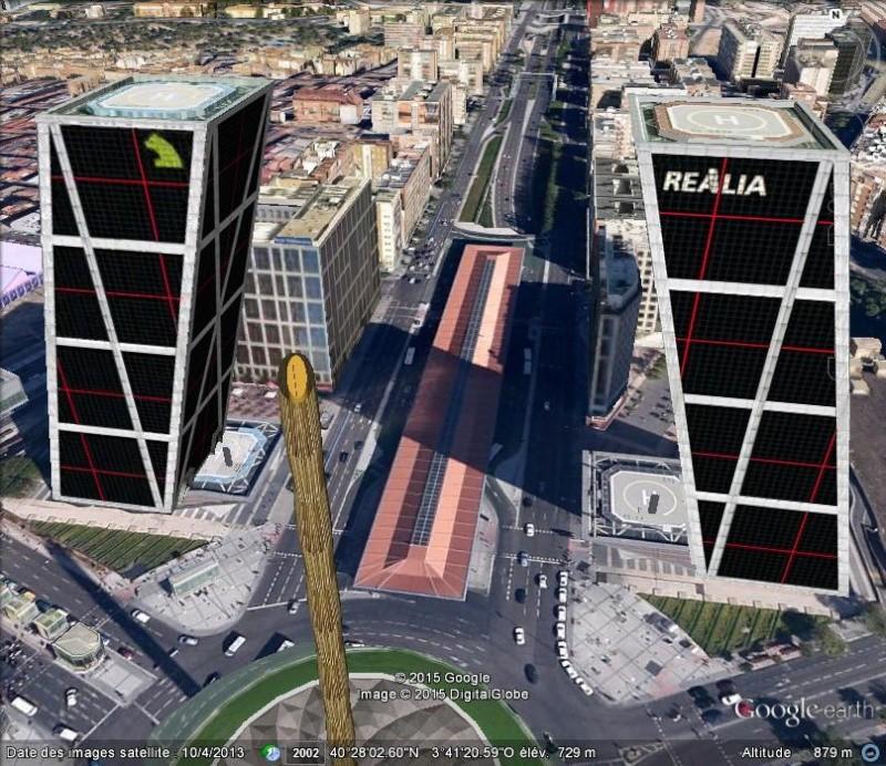 Les Tours KIo, un défi à la verticalité - Madrid - Espagne N112