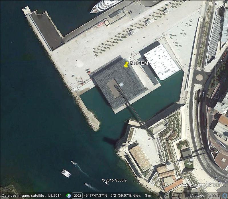 [Désormais visible sur Google-Earth] Le MuCEM - Marseille - France N26