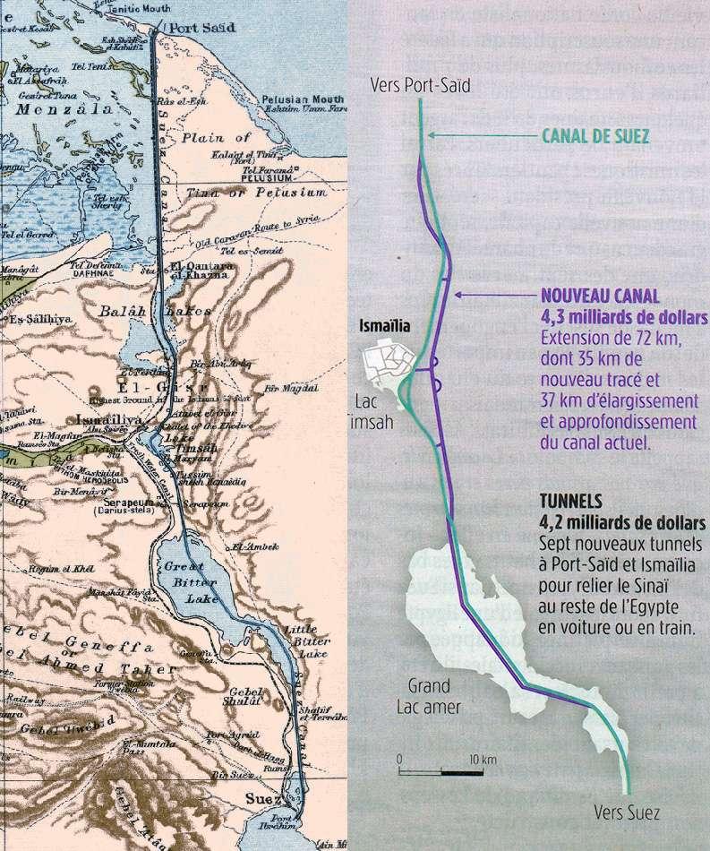 Le Canal des Pharaons : des travaux pharaoniques il y a près de 4000 ans. Suez10